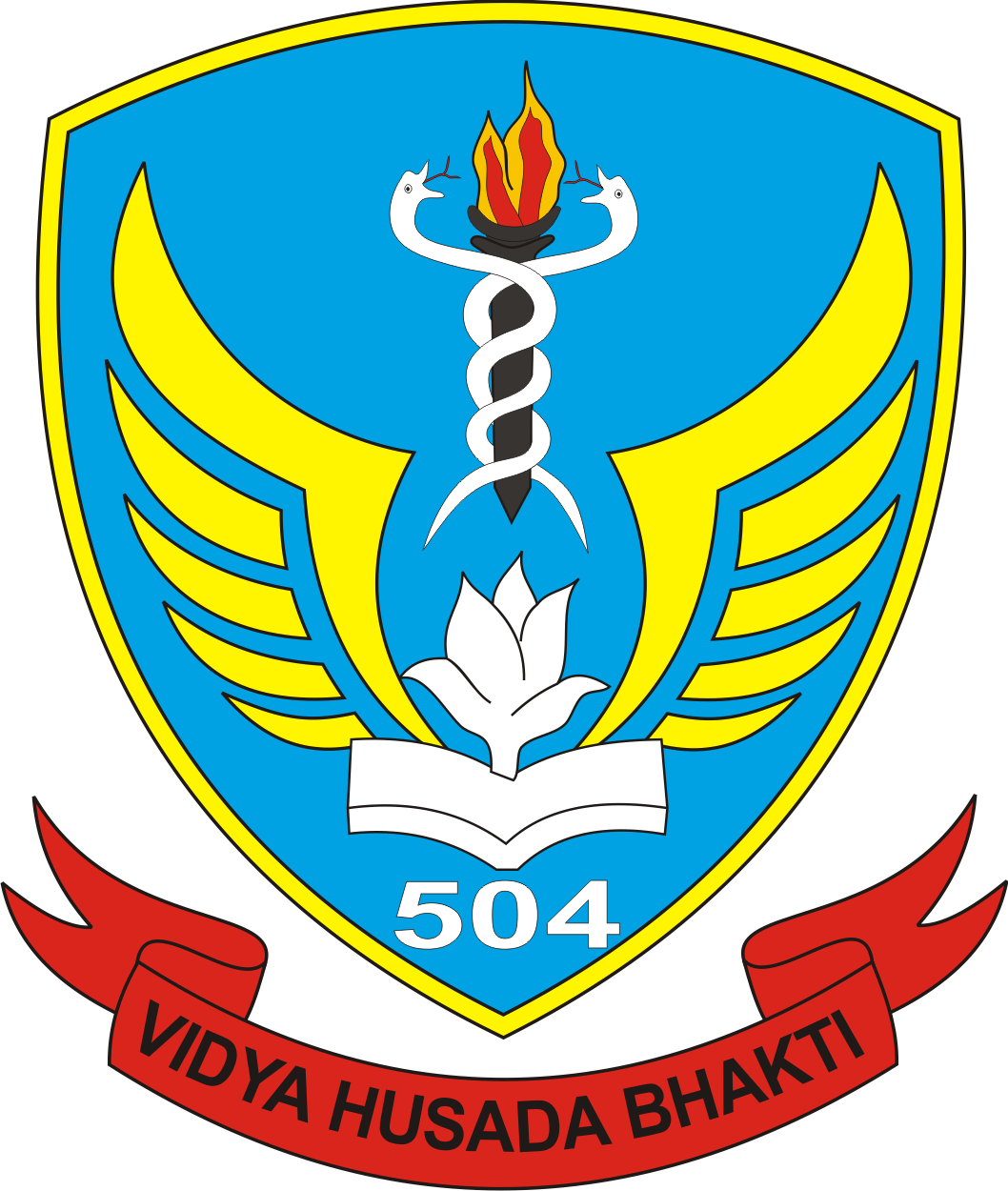 logo skadron pendidikan skadik 504 wing pendidikan