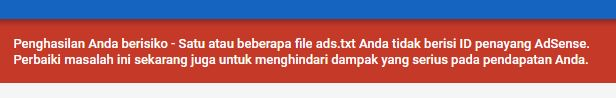 ads.txt AdSense di Blogger