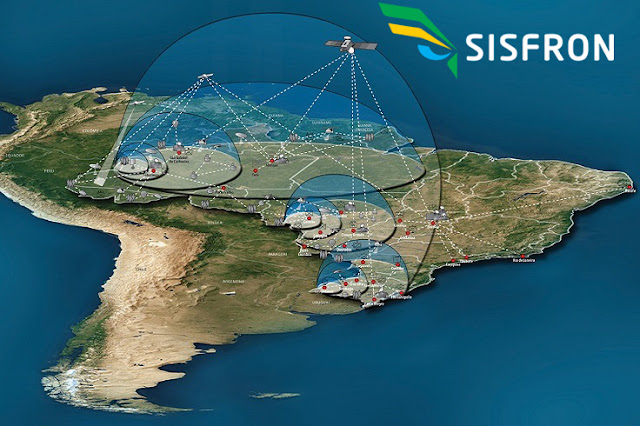 Image Attribute: Integrated Frontier Monitoring System (SISFRON) Schematic Diagram / Source: Ministério da Defesa, Brazil