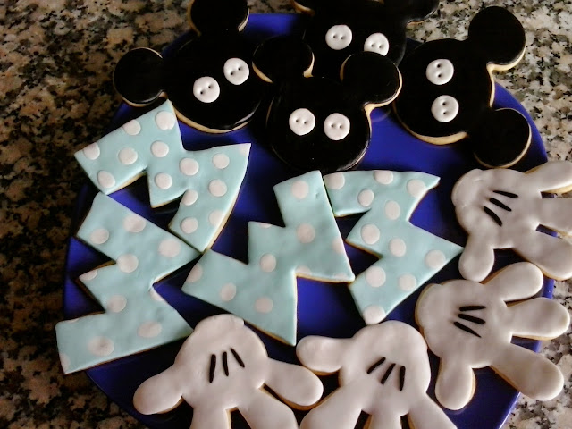 Galletas decoradas Mickey