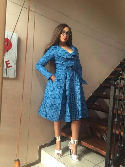 Sophie mbeyu blog pendeza na mitindo mishono ya vitenge