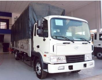 xe 5 tấn hyundai hd120 thùng bạt