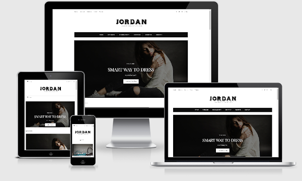 Chia sẻ Jordan Blogger Template