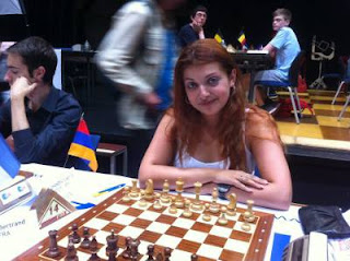 La grand-maître ukrainienne Evgeniya Doluhanova (2320) © Chess & Strategy