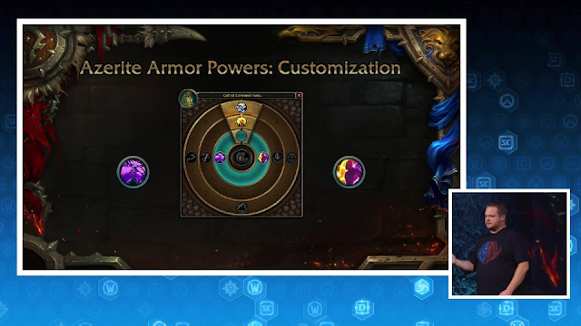 Azerite Armor Powers Heart of Azeroth