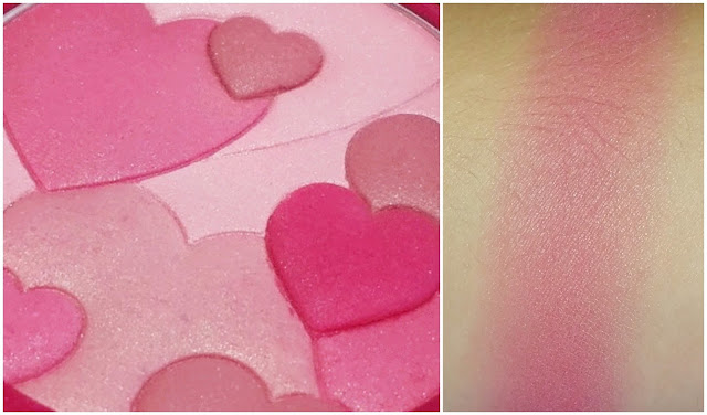 Physicians Formula Happy Booster Glow & Mood Boosting Blush in Rose Swatch