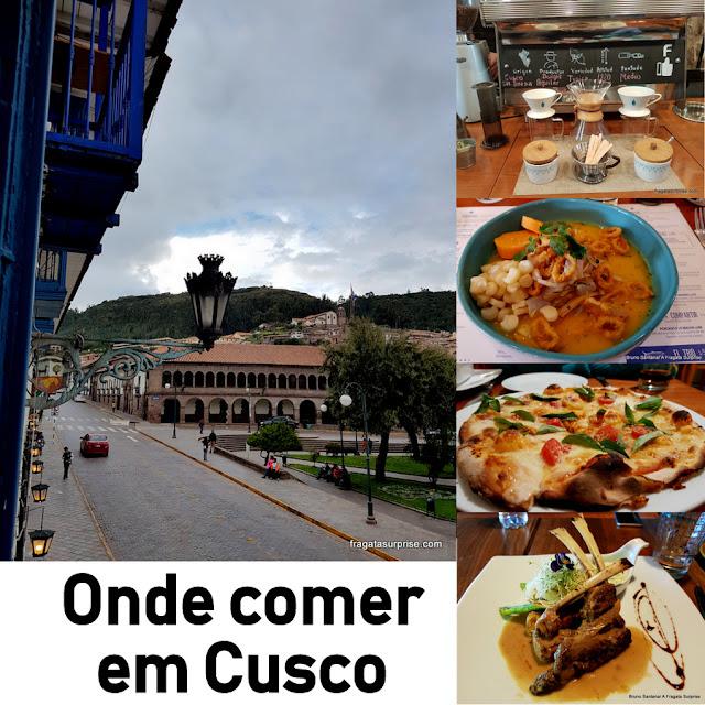 Restaurantes em Cusco, Peru