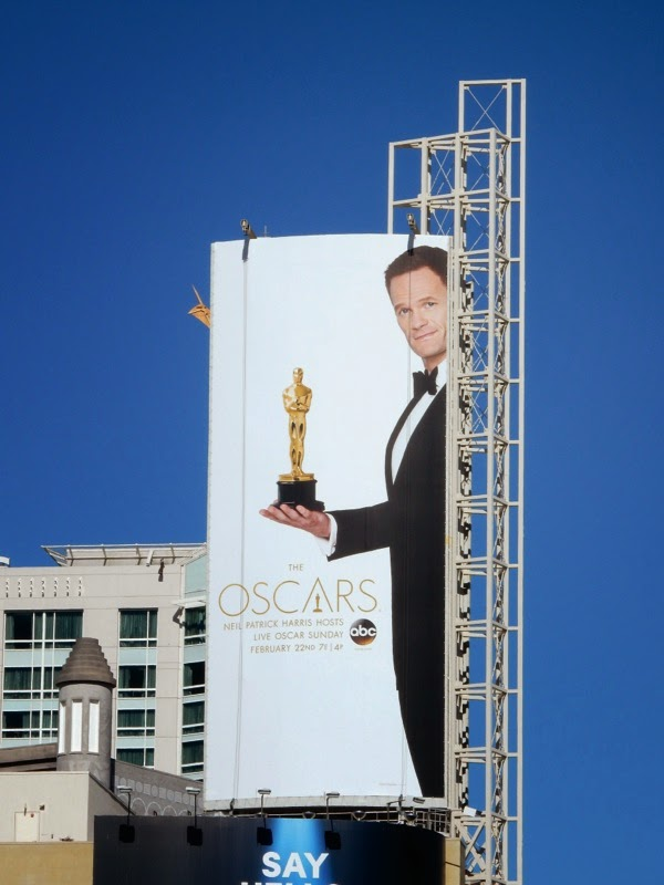 2015 Oscars Neil Patrick Harris billboard