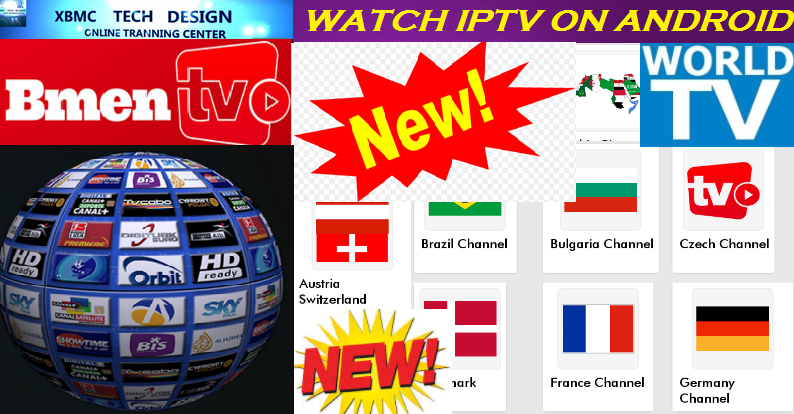 Download BmenIPTV App FREE (Live) ChannelStream Update(Pro) IPTV Apk For Android Streaming World Live Tv ,TV Shows,Sports,Movie on Android Quick BmenIPTVApp FREE(Live) Channel Stream Update(Pro)IPTV Android Apk Watch World Premium Cable Live Channel or TV Shows on Android