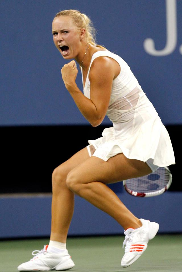 Sports Star Caroline Wozniacki US Open 2011 Hot Pics | Desktop Sports Stars Wallpapers