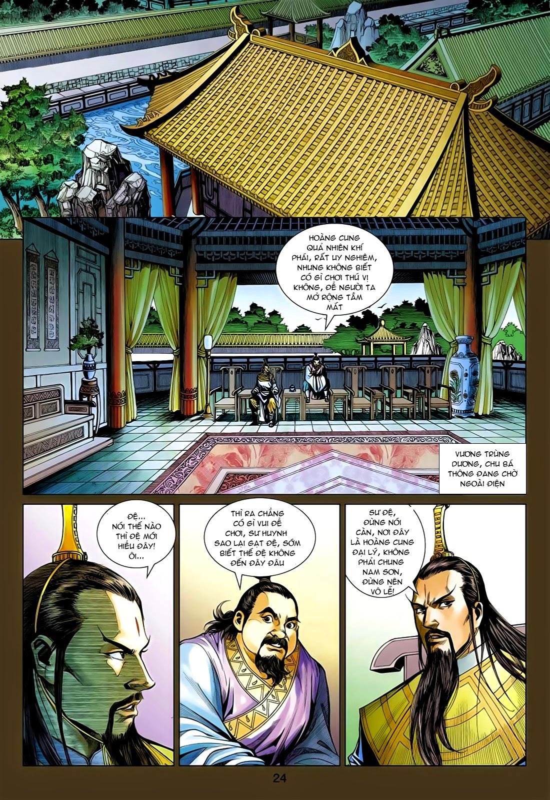 Anh Hùng Xạ Điêu anh hùng xạ đêu chap 75: hoàng thành cựu sự trang 24