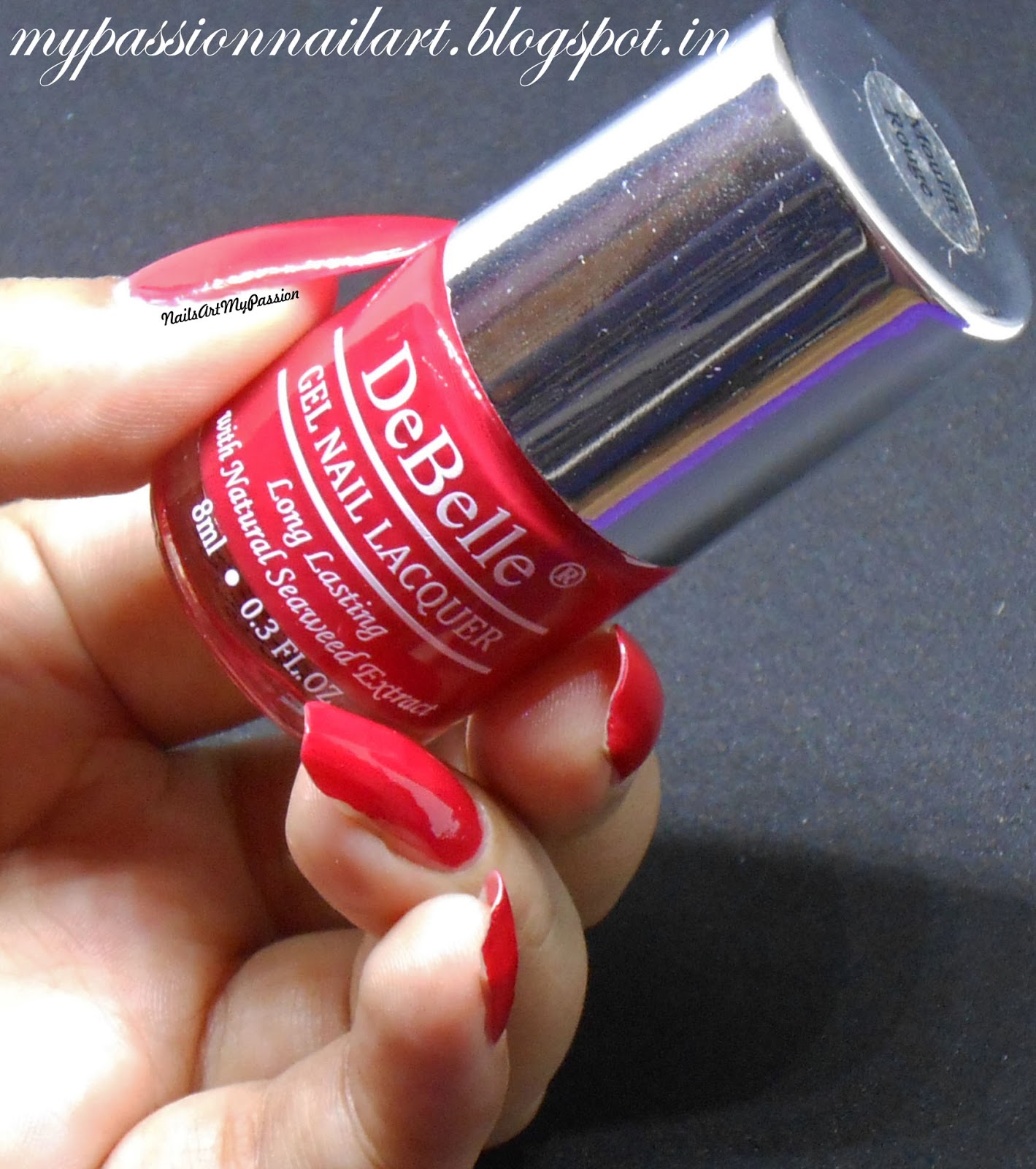 Nail Art My Passion: \'Moulin Rouge\' & \'Royale Cocktail\' by DeBelle ...