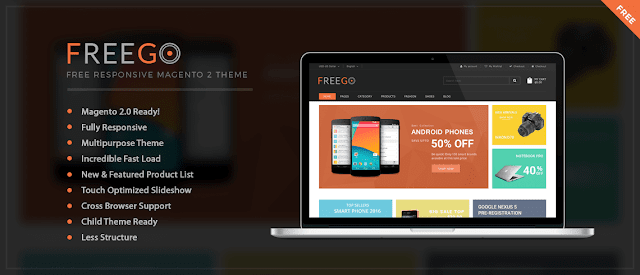 FreeGo Magento 2 Theme