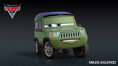 Miles Axlerod Cars 2 Film