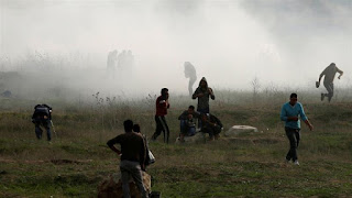41 Palestinians killed by Israeli fire at Gaza border