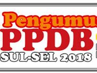 Pengumuman KELULUSAN PPDB 2018 Jalur Akademik JENJANG SMK