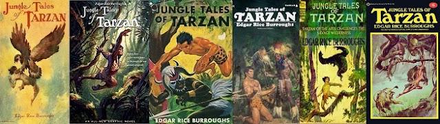 Edgar Rice Burroughs Tarzan dzsungeltörténetei