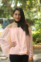 Rakul Preet Singh in lovely Pink Crop Top and Black Trousers at Jaya Janaki Nayaka success meet 069.JPG