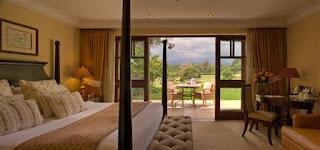 Fairmont Mount Kenya Safari Club located in Mount Kneya National Park near Nanyuki