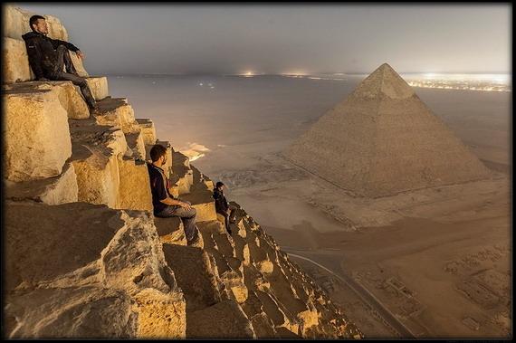 giza 6 - Increíbles fotos de la parte superior de la pirámide de Giza