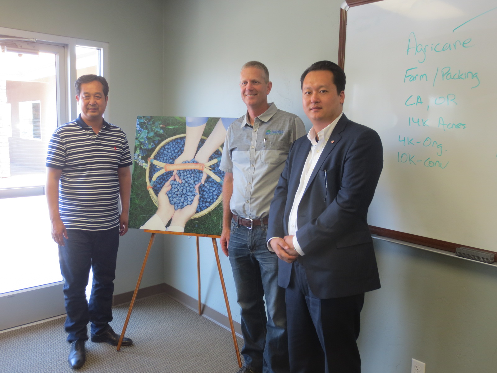Blueberry FoodTech: Chinese Dry Fruit and Nut Buyers Visit