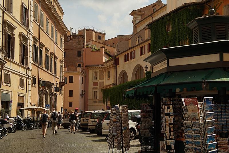 Straßen und Läden in Rom - Impressionen vom Städtetrip nach Rom im Juni 2017 | Tasteboykott