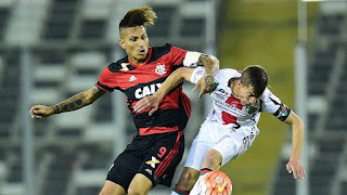 Flamengo vs Palestino en Copa Sudamericana 2016