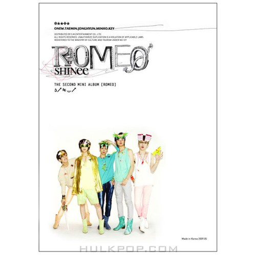 SHINee – Romeo (2nd Mini Album) (FLAC + ITUNES PLUS AAC M4A)