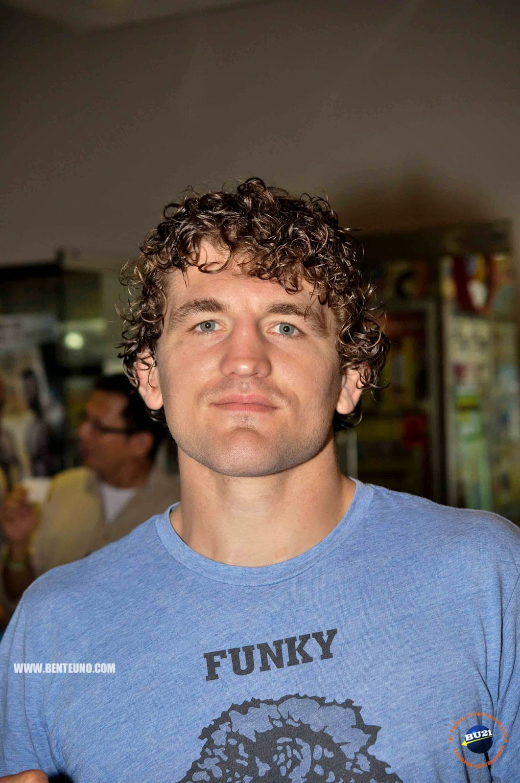 Portrait of One FC's Ben Askren