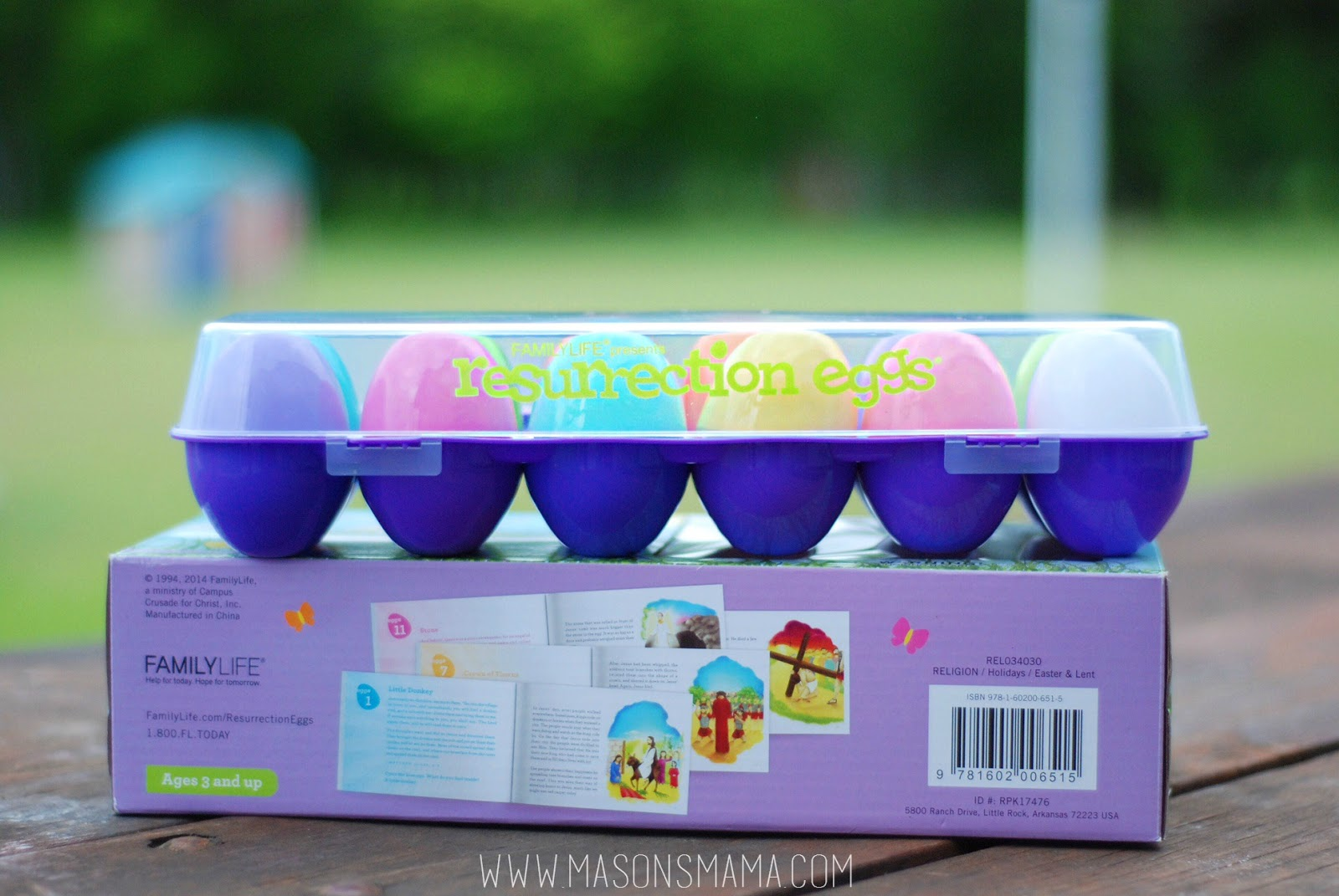 Christ centered Easter Resurrection Eggs