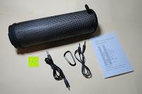 Lieferumfang: R4mpage RP-1100 Bluetooth Lautsprecher 10Watt mit LED Farbwechselmodus, und Mikrofon für Freisprechfunktion