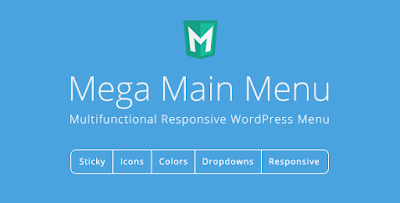 Free Download Mega Main Menu v2.0.9 WP Menu Plugin
