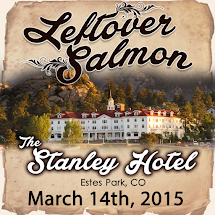 Curtain With Leftover Salmon 2015-03-14 Stanley Hotel