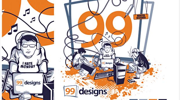 99designs (خاصة بالمصممين)