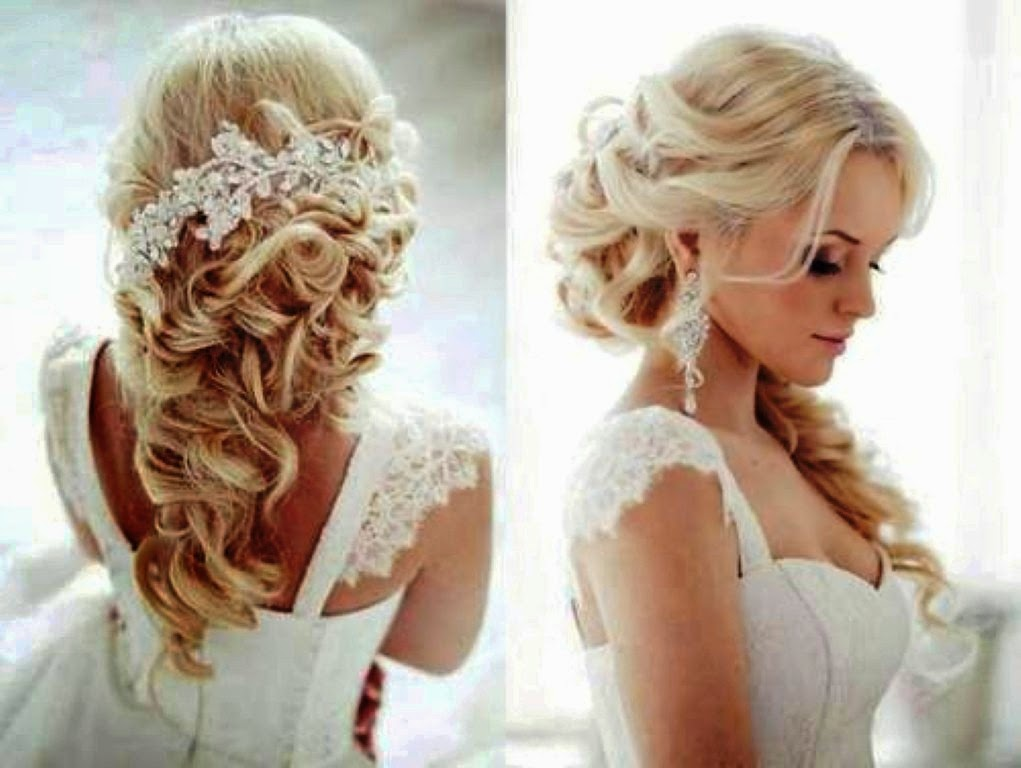 Hairstyles For Long Hair With Flowers Kacapiring