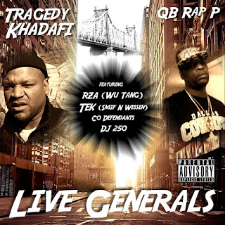 Tragedy Khadafi & QB Rap P - Live Generals (2017) - Album Download, Itunes Cover, Official Cover, Album CD Cover Art, Tracklist