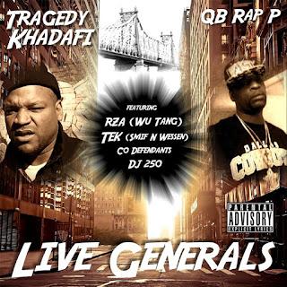 Tragedy Khadafi & QB Rap P - Live Generals (2017) - Album Download, Itunes Cover, Official Cover, Album CD Cover Art, Tracklist