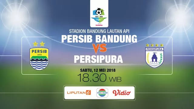 Prediksi Persib vs Persipura - Liga 1 Sabtu 11 Mei 2018