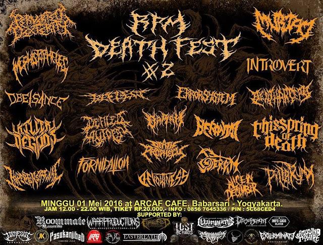 PREPARE RPM DEATH FEST # 2 WILL BE BLASTED !!!