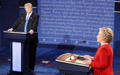 ... fm: El debate cambió de rumbo una vez que Trump quedó a la defensiva