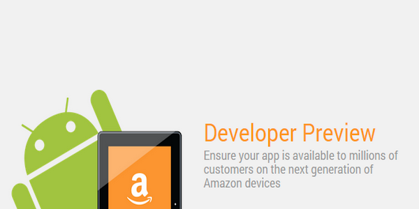 Amazon Fire OS 5 Developer Preview