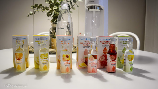 sodastream makutipat fruit drops spirit hiilihapotuslaite
