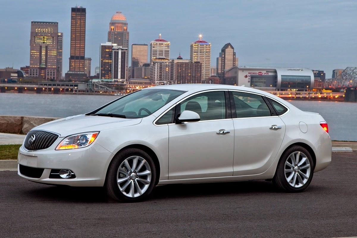 2015 Buick Verano Small Luxury Sedan Review Car Reviews