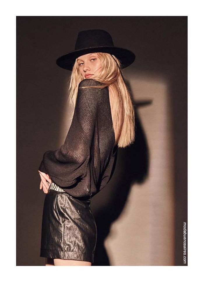Moda invierno 2019 ropa de moda 2019.
