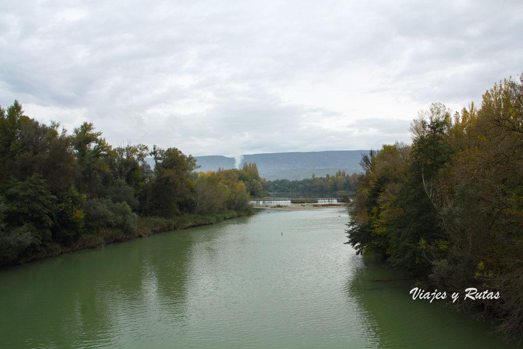 Río Aragón, Sangüesa