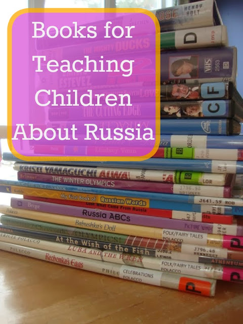 Book list for 'Teaching Children About Russia'