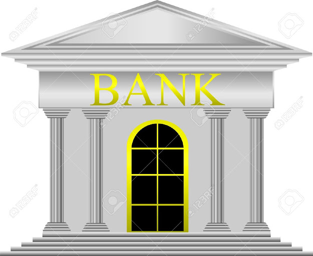 Metal Bank Icon On White Background  Vector Stock Vector
