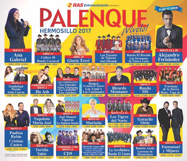 palenque hermosillo 2017
