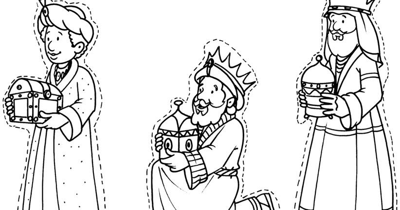 Cuentosdedoncococom Dibujo Reyes Magos Para Colorear
