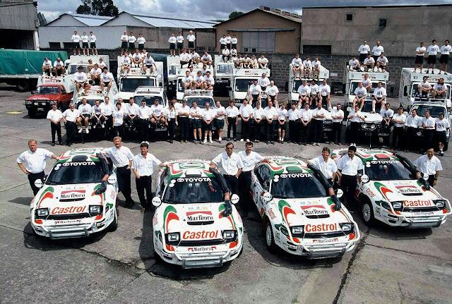 Toyota Celica, legenda rajdów, kultowe rajdówki, ciekawe sportowe samochody, auto dla młodego, samochody z Japonii, japońska motoryzacja, T180, ST182, ST185, GT-Four, All-Trac